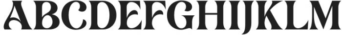 Lovechild Regular otf (400) Font UPPERCASE