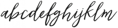 Lovefern Swashes otf (400) Font LOWERCASE