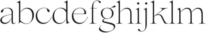 Lovelace Extralight otf (200) Font LOWERCASE