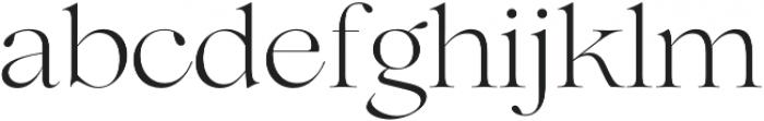 Lovelace Light otf (300) Font LOWERCASE