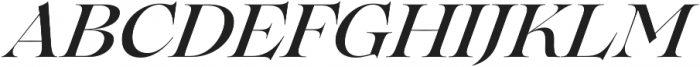 Lovelace Medium Italic otf (500) Font UPPERCASE
