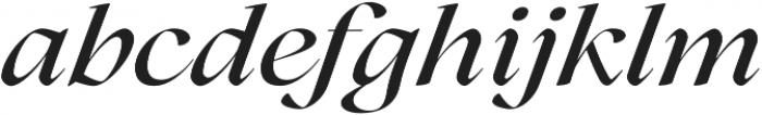 Lovelace Medium Italic otf (500) Font LOWERCASE