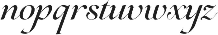 Lovelace Script Medium otf (500) Font LOWERCASE