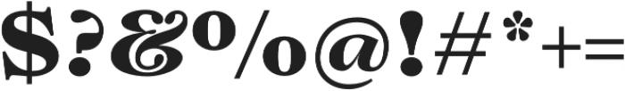 Lovelace Text Extrabold otf (700) Font OTHER CHARS