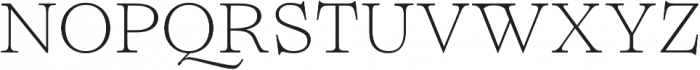 Lovelace Text Extralight otf (200) Font UPPERCASE
