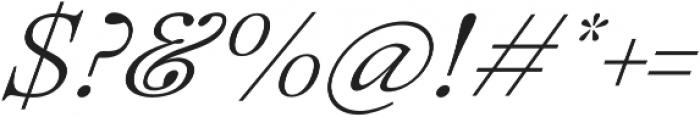 Lovelace Text Light Italic otf (300) Font OTHER CHARS