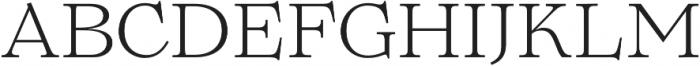 Lovelace Text Light otf (300) Font UPPERCASE