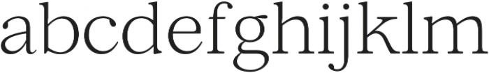 Lovelace Text Light otf (300) Font LOWERCASE
