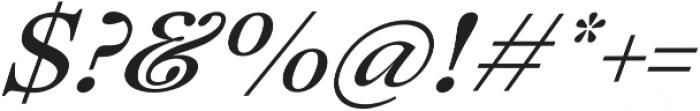 Lovelace Text Medium Italic otf (500) Font OTHER CHARS