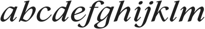 Lovelace Text Medium Italic otf (500) Font LOWERCASE