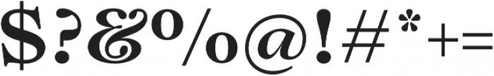 Lovelace Text otf (700) Font OTHER CHARS