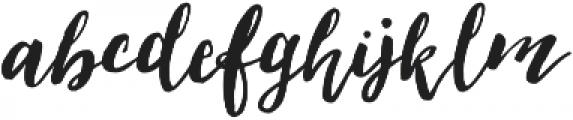 Loveletter Script otf (400) Font LOWERCASE