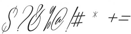 Lovellyana Script Slant otf (400) Font OTHER CHARS