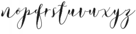 Lovely Dramatis Regular otf (400) Font LOWERCASE