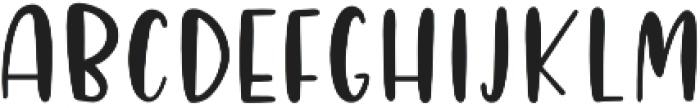 Lovely Letters otf (400) Font UPPERCASE