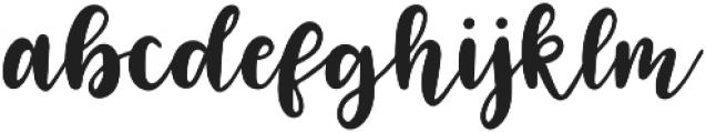 Lovely Letters otf (400) Font LOWERCASE
