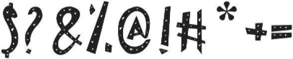 Lovely otf (400) Font OTHER CHARS