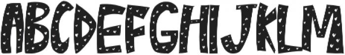 Lovely otf (400) Font LOWERCASE