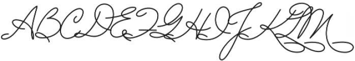Lovepen Regular otf (400) Font UPPERCASE