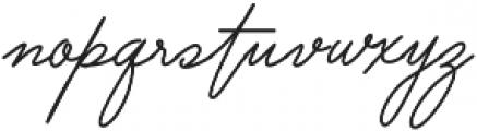 Lovepen Regular otf (400) Font LOWERCASE