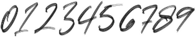LoversBrooksRough otf (400) Font OTHER CHARS