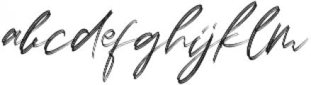 LoversBrooksRough otf (400) Font LOWERCASE