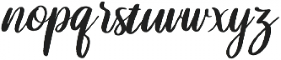 Lovina otf (400) Font LOWERCASE