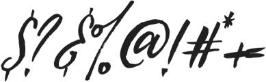 Loving Saskia Italic otf (400) Font OTHER CHARS