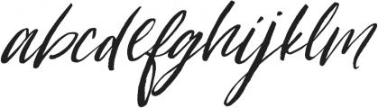 Loving Saskia Italic otf (400) Font LOWERCASE