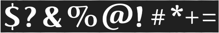 Lovingly Friends Notes Bold otf (700) Font OTHER CHARS