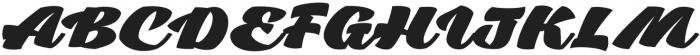 Low Casat Fat otf (800) Font UPPERCASE