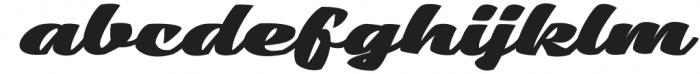 Low Casat Fat otf (800) Font LOWERCASE