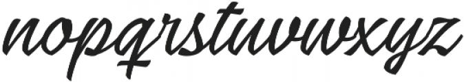 Low Casat Thin otf (100) Font LOWERCASE