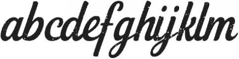 Loyal Watchman Script Regular otf (400) Font LOWERCASE
