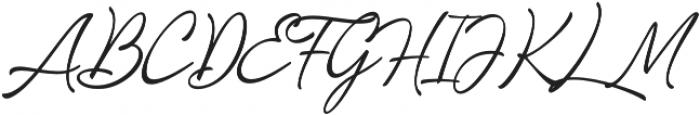Loyalty Script Regular otf (400) Font UPPERCASE