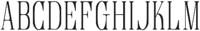 love and live otf (400) Font LOWERCASE