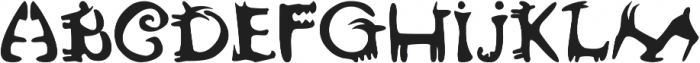 lovely rustica otf (400) Font LOWERCASE