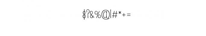LOVEANDBEACH1.TTF Font OTHER CHARS