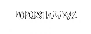Lobsters Blush Bold.ttf Font UPPERCASE