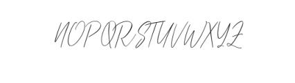 Love Rosnita.ttf Font UPPERCASE