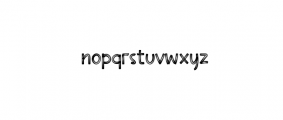 Loving Stay Font LOWERCASE