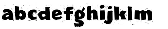 LogJam Font LOWERCASE
