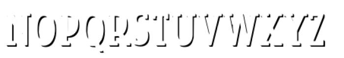 Look Serif Accent Light Font UPPERCASE