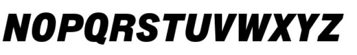 Lorimer No 2 Black Italic Font UPPERCASE