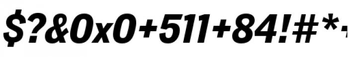 Lorimer No 2 Bold Italic Font OTHER CHARS