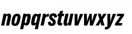 Lorimer No 2 Condensed Bold Italic Font LOWERCASE