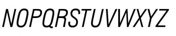 Lorimer No 2 Light Italic Font UPPERCASE