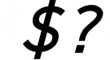 Logico-Sans Simple Modern Font 1 Font OTHER CHARS