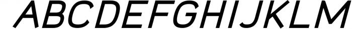 Logico-Sans Simple Modern Font 1 Font UPPERCASE