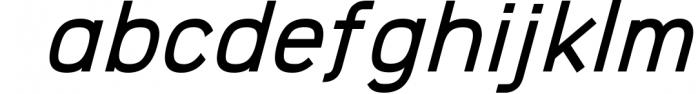 Logico-Sans Simple Modern Font 1 Font LOWERCASE